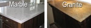 Marble vs Granite Countertops