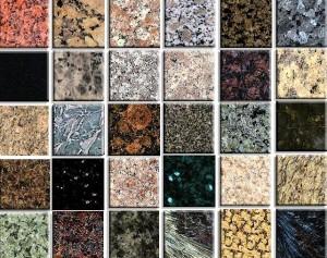 Granite countertops colours